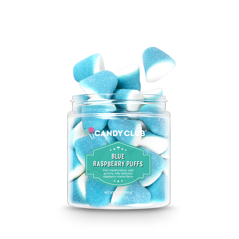 Candy Club - Small Blue Raspberry Puffs