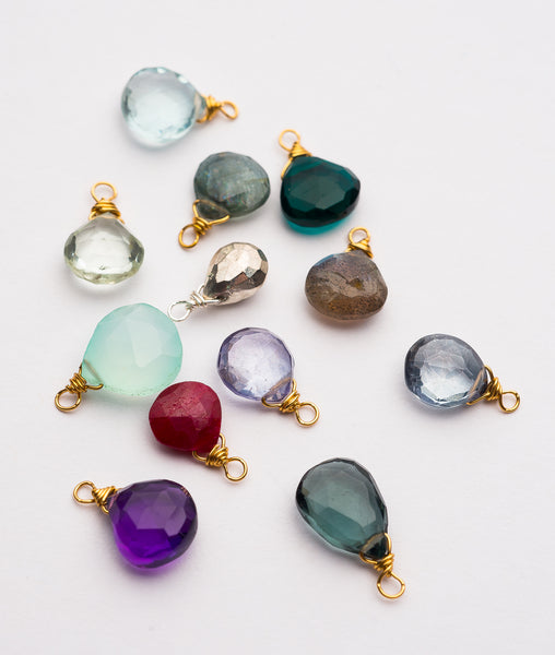 Ruthie and Olive | 3 meals donated for every necklace - Be The Person You Needed - Gemstone Necklace