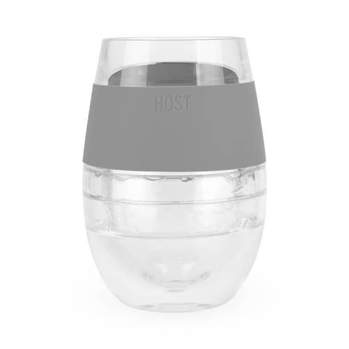HOST - Wine FREEZE™ Cooling Cup in Grey (1 pack) by HOST®