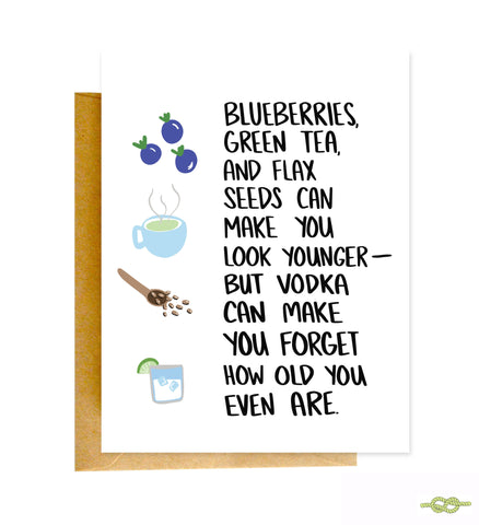 Knotty Cards - Blueberries