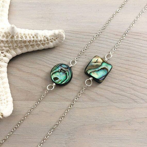 Lani Makana - Abalone Necklace - circle