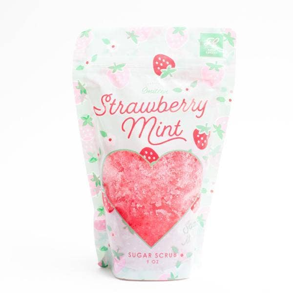 Feeling Smitten - Strawberry Mint Sugar Scrub Bags