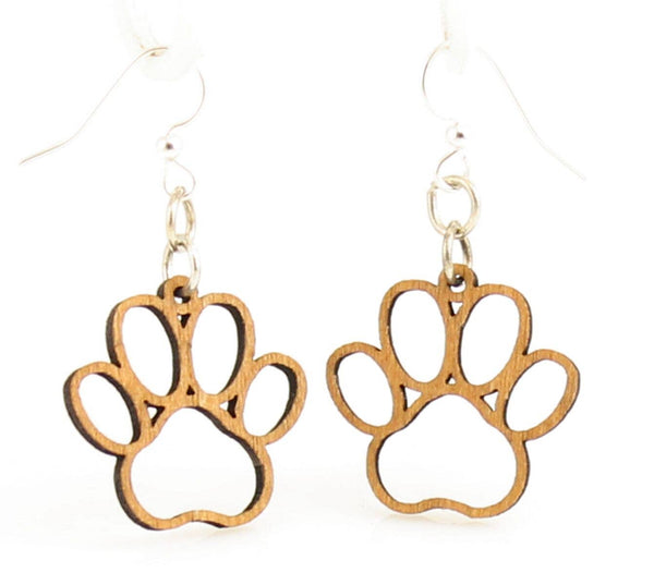 Green Tree Jewelry - Puppy Paw Blossoms Earrings