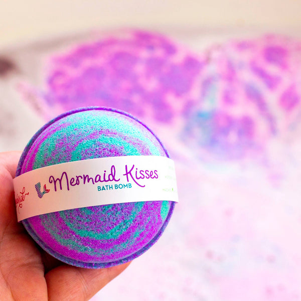 Leebrick - Mermaid Kisses Bath Bomb