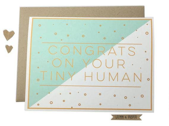 Funny Congrats on New Baby Card