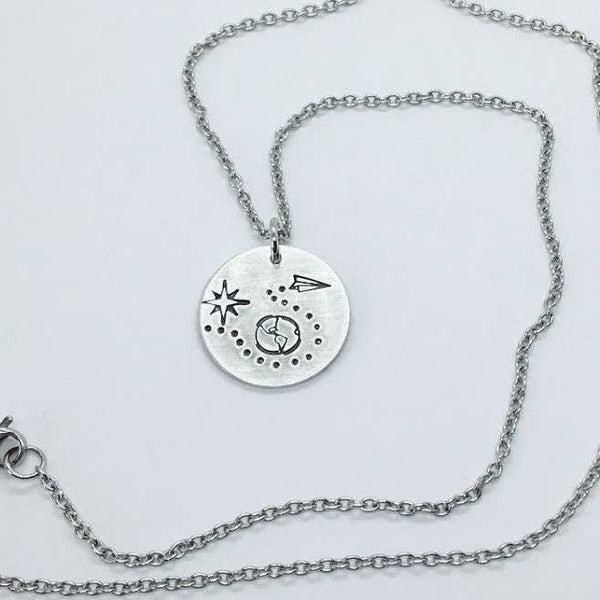Jamie Haley Designs - The Traveler pendant necklace