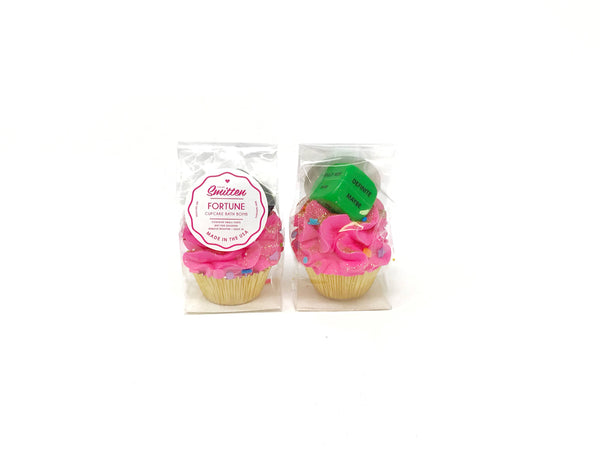 Feeling Smitten - Fortune Mini Cupcake Bath Bomb
