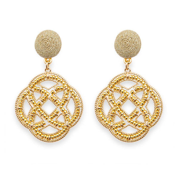 Gold Westwood Earrings