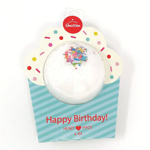 Feeling Smitten - Happy Birthday Bath Bomb (Clamshell Packaging)
