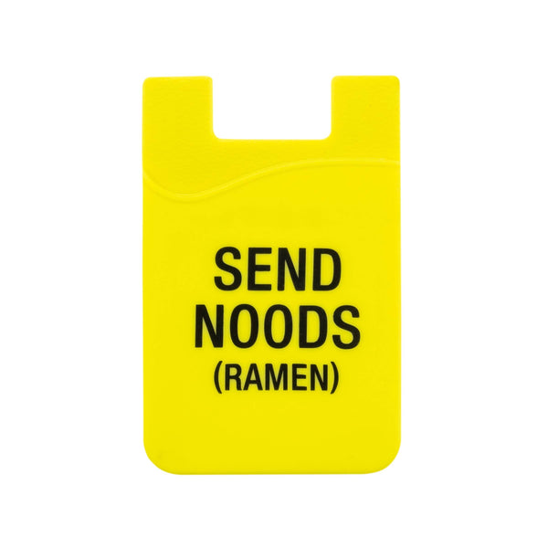 About Face Designs - Send Noods Phone Pocket