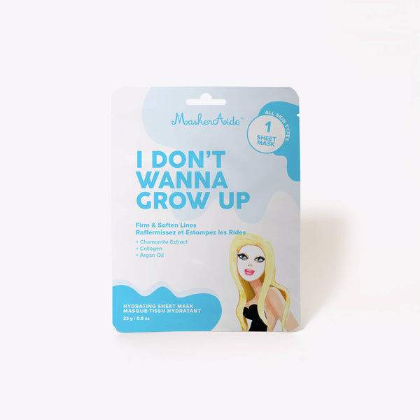 MaskerAide - I Don't Wanna Grow Up Firming Sheet Mask