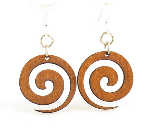 Green Tree Jewelry - Spiral Blossoms Earrings