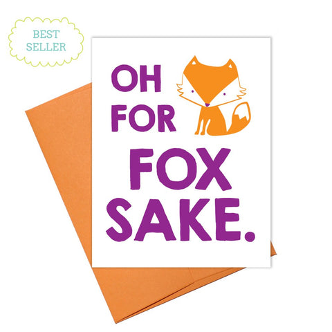 Colette Paperie - For Fox Sake Card