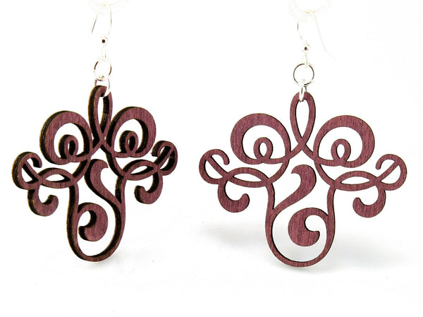 Green Tree Jewelry - Vintage Filigree Earrings