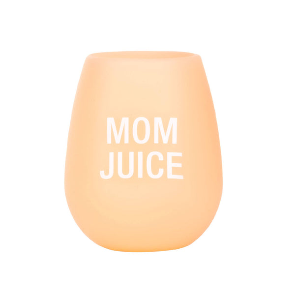 About Face Designs - Mom Juice Silicone Wine Cup