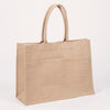 Jute Pocket Shopper Tote - Natural