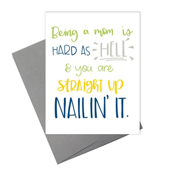 Colette Paperie - Being a Mom & Nailing it Card