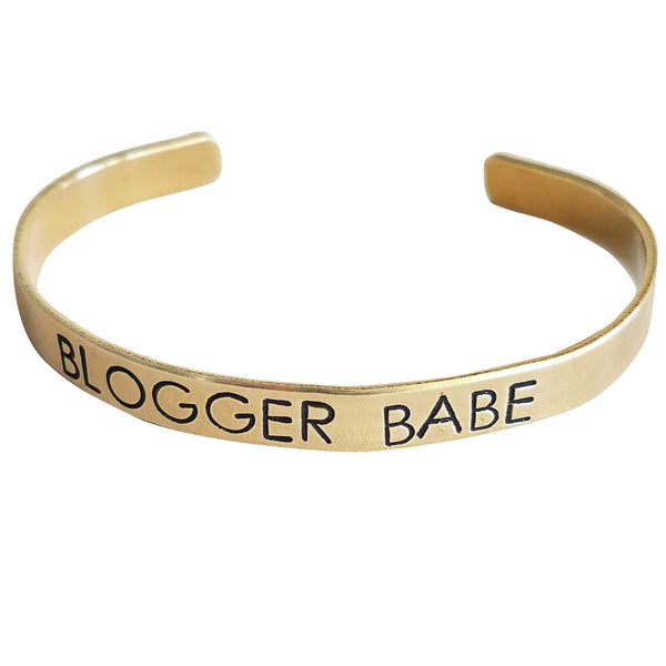 Expressions Bracelets - Blogger Babe Mantra Cuff