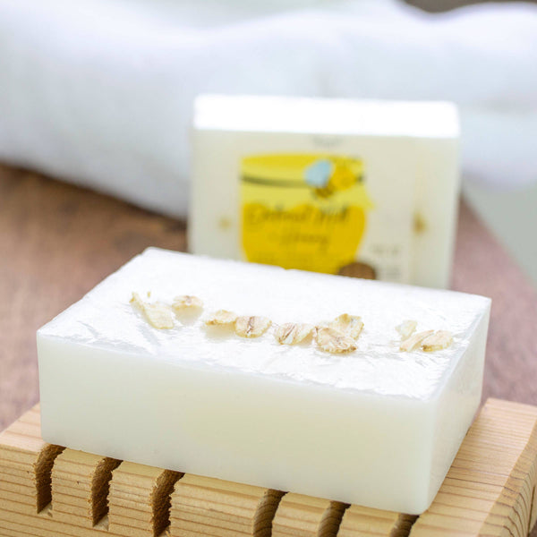Oatmeal Milk + Honey Shea Butter Soap