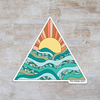 "The Happy Sea - 4"" Seychelles Sticker"