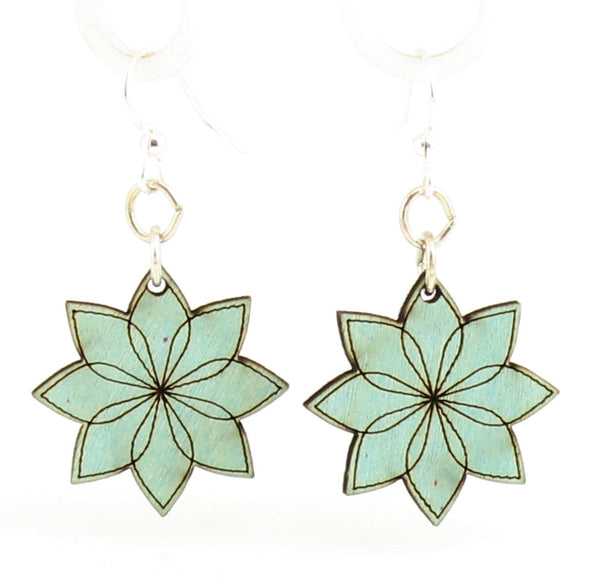 Green Tree Jewelry - Vector Blossoms Earrings