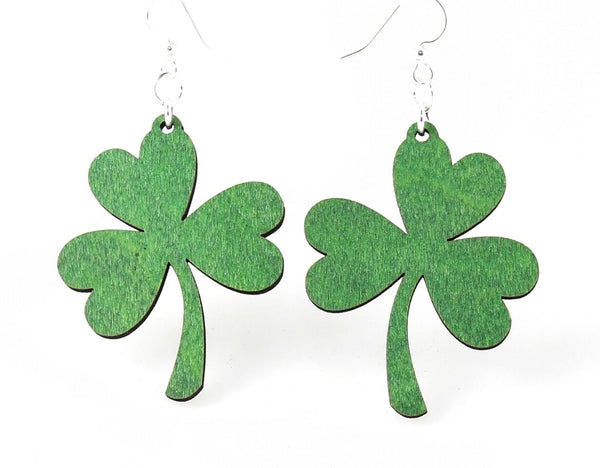 Green Tree Jewelry - Shamrock Earrings