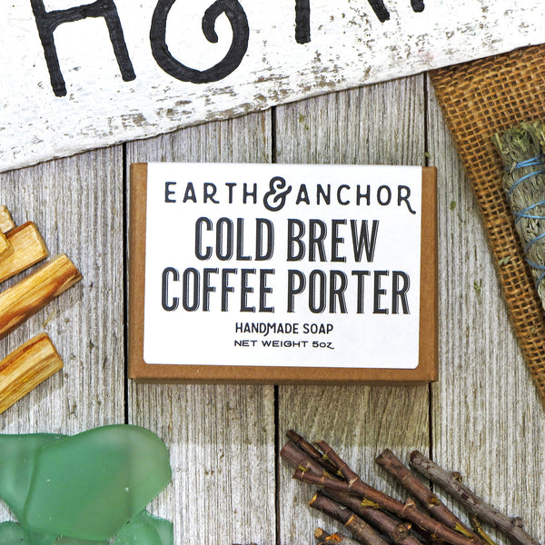 Earth & Anchor Soap Co. - Cold Brew Coffee Porter Soap