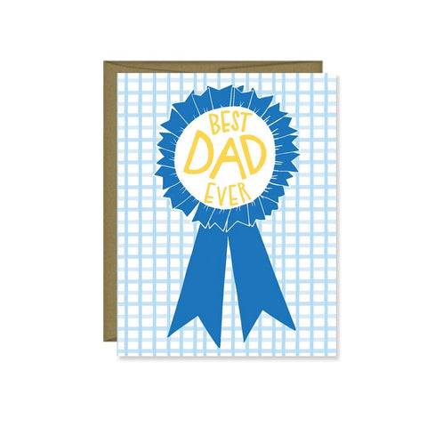 Pen & Paint - Father's Day Card Best Dad Ever