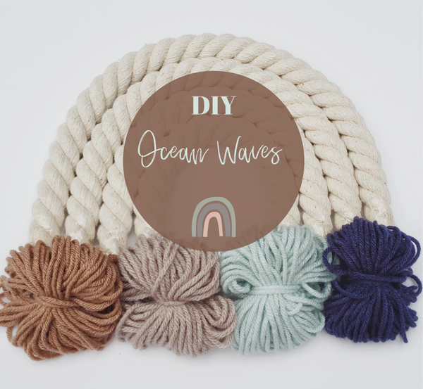 Little Sparrow Co - DIY Rainbow Kit - Ocean Waves