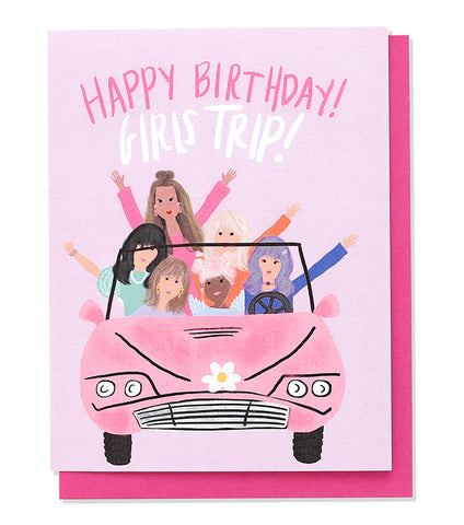 Thimblepress - Girls Trip Birthday Card