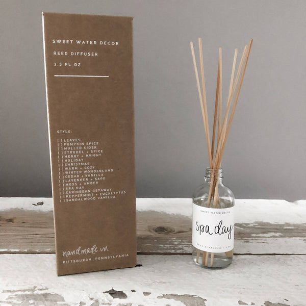 Sweet Water Decor - Spa Day Reed Diffuser