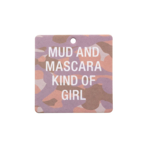 About Face Designs - Mud and Mascara Camo Air Freshener