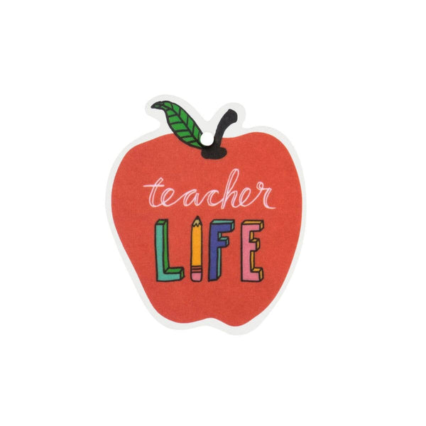 About Face Designs - Teacher Life Air Freshener