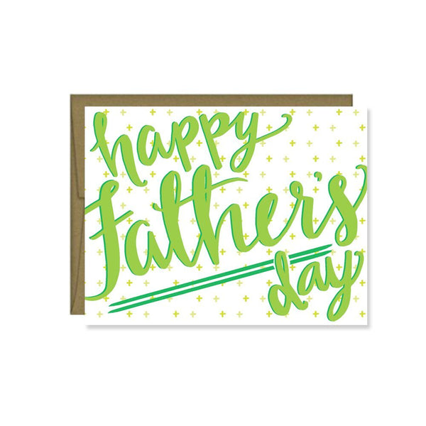 Pen & Paint - Happy Father's Day Card