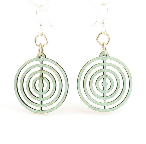 Green Tree Jewelry - Circle Blossoms Earrings