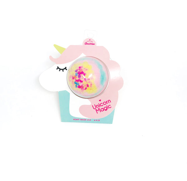 Feeling Smitten - Unicorn Magic Bath Bomb - Clamshell Packaging