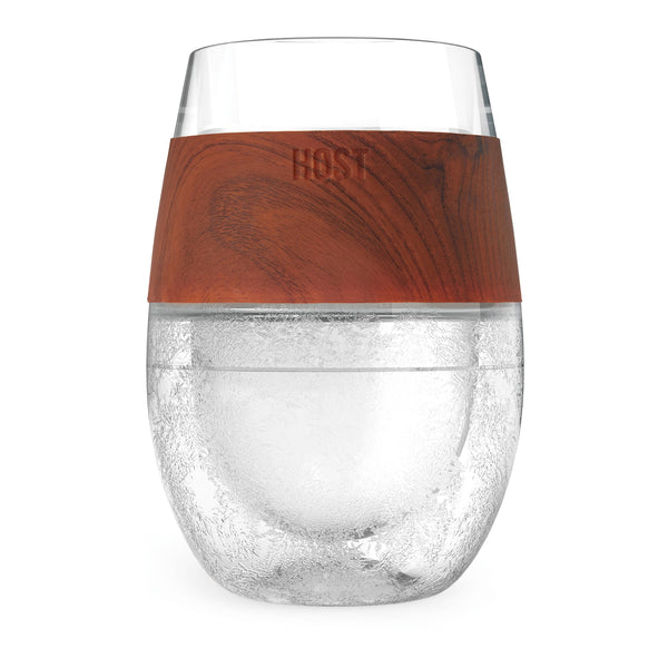 HOST - Wine FREEZE™ Cooling Cup in Wood