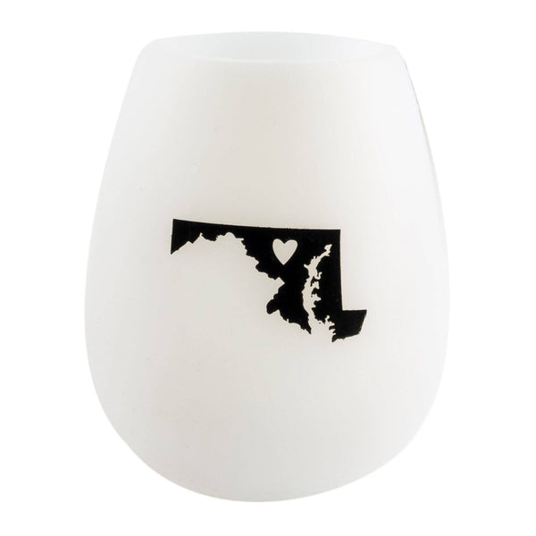 Maryland Silicone Wine Cups