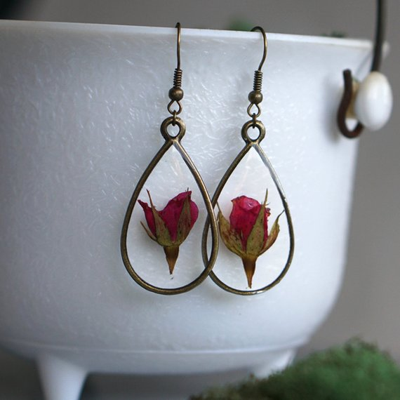 The Pretty Pickle - June Birth Flower Earrings