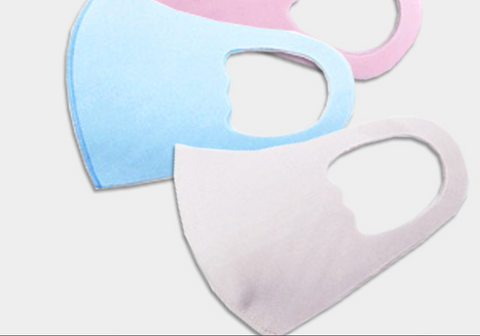 Children's Face Mask - solid colors for kids