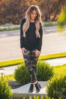 Camo LUSH Leggings