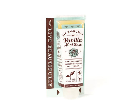 Live Beautifully - Lip Balm Jelly - Vanilla Mint Rose