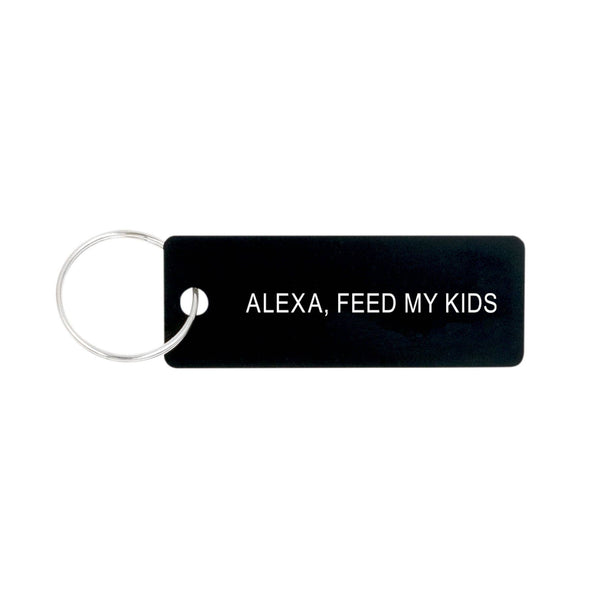 About Face Designs - Alexa Keychain