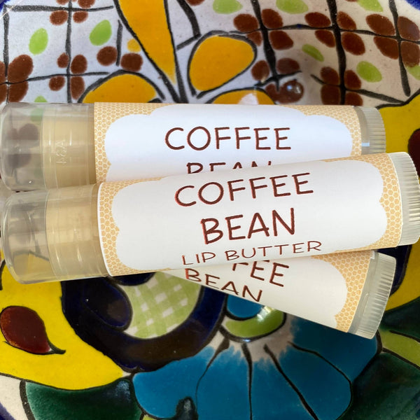 Coffee Bean Lip Butter ~ Lip Balm