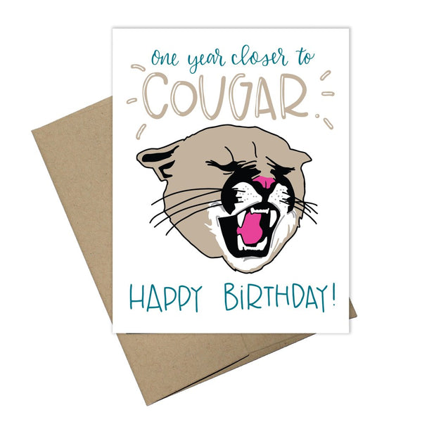 Colette Paperie - Cougar Card