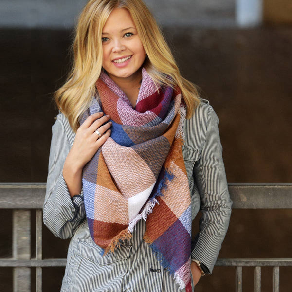 Blanket Scarf Collection - Warm Retreat