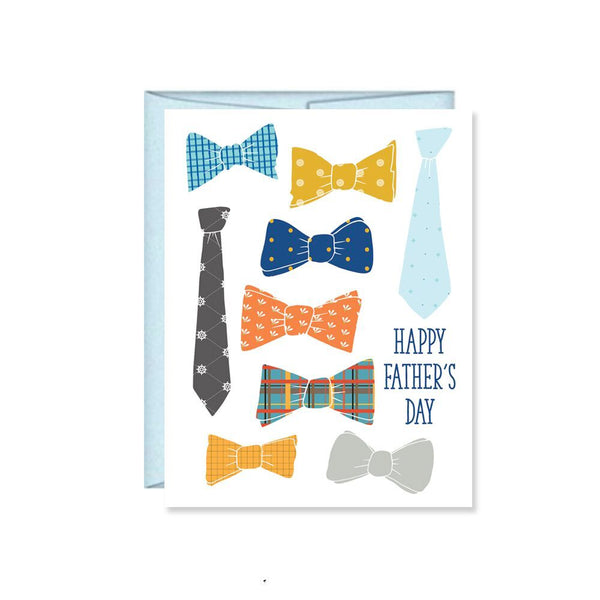 Pen & Paint - Happy Father's Day Bowtie Card