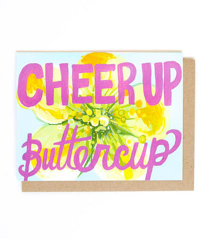 Thimblepress - Cheer Up Buttercup Greeting Card