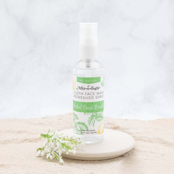 Face Mask Refresher Spray -  Herbal Mint Scent