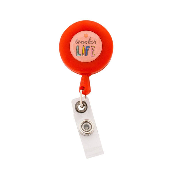 About Face Designs - Teacher Life Badge Reel